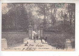 SP- 54 -  LONGWY - Haut - Porte De Bourgogne - Militaire - Soldat - Timbre - Cachet - 1907 - Longwy