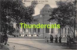 CPA CARTE OFFICIELLE DE L'EXPOSITION UNIVERSELLE LIEGE 1905 NELS NO 108 PALAIS DES BEAUX ARTS - Expositions