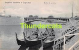 CPA CARTE OFFICIELLE DE L'EXPOSITION UNIVERSELLE LIEGE 1905 NELS NO 133 STATION DEGONDOLES - Expositions