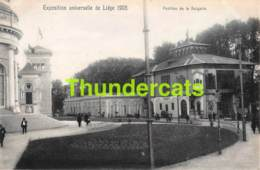 CPA CARTE OFFICIELLE DE L'EXPOSITION UNIVERSELLE LIEGE 1905 NELS NO 213 PAVILLON DE LA BULGARIE - Expositions