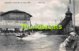 CPA CARTE OFFICIELLE DE L'EXPOSITION UNIVERSELLE LIEGE 1905 NELS NO 166 WATER CHUTE - Expositions