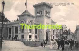 CPA CARTE OFFICIELLE DE L'EXPOSITION UNIVERSELLE LIEGE 1905 NELS NO 198 PAVILLON DU CANADA - Expositions