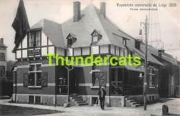 CPA CARTE OFFICIELLE DE L'EXPOSITION UNIVERSELLE LIEGE 1905 NELS NO 1204 FERME DEMONSTRATIVE - Expositions