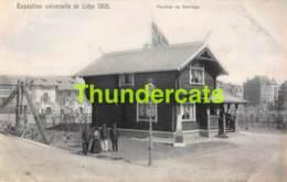 CPA CARTE OFFICIELLE DE L'EXPOSITION UNIVERSELLE LIEGE 1905 NELS NO 210 PAVILLON DE NORVEGE - Expositions