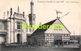 CPA CARTE OFFICIELLE DE L'EXPOSITION UNIVERSELLE LIEGE 1905 NELS NO 321 FERME WESTPHALIENNE - Expositions