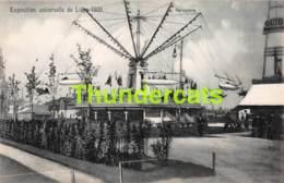 CPA CARTE OFFICIELLE DE L'EXPOSITION UNIVERSELLE LIEGE 1905 NELS NO 193 AEROPLANE - Expositions