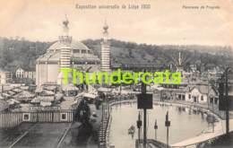 CPA CARTE OFFICIELLE DE L'EXPOSITION UNIVERSELLE LIEGE 1905 NELS NO 162 PANORAMA DE FRAGNEE - Expositions