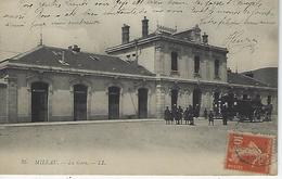 Millau-la Gare-ambulant Beziers à Severac - Millau