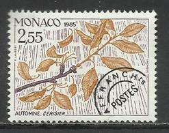 MONACO , Timbre Préo , 2.55 Frs , Les Quatres Saisons Du Cerisier , Automne , 1985 , N° 88 , ** - Préoblitérés