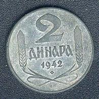 Serbien, 2 Dinara 1942 - Serbien