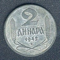 Serbien, 2 Dinara 1942 - Servië