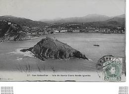 San Sebastian- Isla De Santa Clara Desde Igueldo - Guipúzcoa (San Sebastián)
