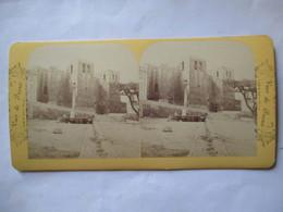 MARSEILLE - Photographie Stéréoscopique Albumen ( Fin XIX ème) - Vue De Saint Victor - Ed. B.K , Paris    - TBE - Stereoscopio
