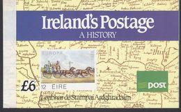 Ireland 1990 Ireland's Postage A History Booklet ** Mnh (42338) - Boekjes