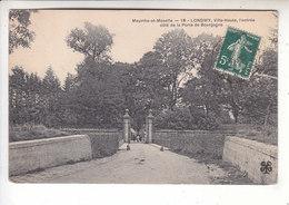 SP- 54 -  LONGWY - Haut - Entree Cote De La Porte De Bourgogne - Timbre - Cachet - 1908 - Longwy