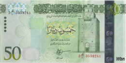 Libya 50 Dinars (P84) 2016 -UNC- - Libië