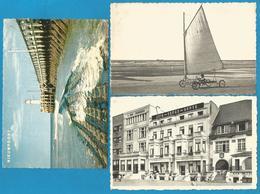 (G163) NIEUWPOORT - Jetée, Char à Voile, Hôtels - Nieuwpoort