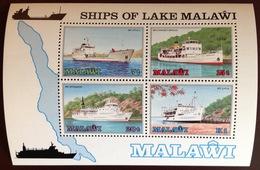 Malawi 1985 Ships Minisheet MNH - Malawi (1964-...)