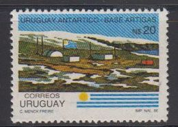 Uruguay 1971 Antarctica / Base Artigas 1v ** Mnh (42343A) - Uruguay