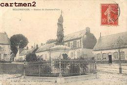 BEAUREVOIR STATUE DE JEANNE D'ARC 02 - Unclassified