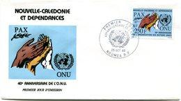 Nouvelle Calédonie - FDC Yvert PA 248 ONU - X 1021 - FDC