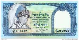 NEPAL 50 RUPEE BANKNOTE KING GYANENDRA 2002 PICK - 48 UNC - Népal