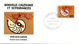 Nouvelle Calédonie - FDC Yvert PA 249 Lycée Garnier - X 1022 - FDC
