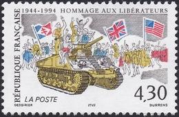 FRANCE, 1994, Débarquement De Normandie (Yvert 2887-2888 ) - France