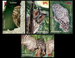 Roumanie Romania 5699/702 Hibou, Chouette - Hiboux & Chouettes