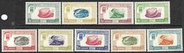 Dubai  1963  Sc#J1-9  Dues Set  MH  2016 Scott Value $30.25 - Dubai