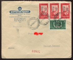 """1952 """"Enveloppe"""" - Covers & Documents"""