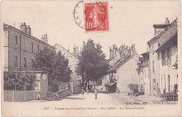 Carte Postale Lons Le Saunier / Rue Sebile / La Gendarmerie / Jura 39 - Lons Le Saunier