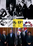Maximumkarte 2010 - EFTA - Jubiläum 50 Jahre - Cartoline Maximum