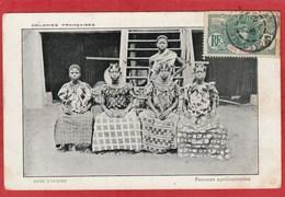 CPA: Côte D'Ivoire - Femmes Apolloniennes - Côte-d'Ivoire