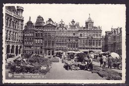 27 Brussel  Grote Markt - N-W - Markten
