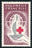 POLYNESIE 1963 - Yv. 24 ** SUP  Cote= 15,50 EUR - Centenaire Croix-Rouge Intern.  ..Réf.POL23768 - Nuovi