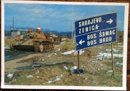 Doboj  The Road Between Sarajevo And Bosanski Brod ... ITALFOR / SFOR - Bosnia Erzegovina