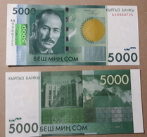 Kyrgyzstan 5000 Som 2009. Press, Series AA - Kyrgyzstan