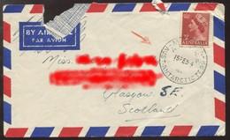 "1954 ""Enveloppe"" Du 15/02/1954 ? - Territoire Antarctique Australien (AAT)"