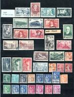 Année 1937   - Timbres Oblitérés - France