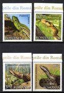 Roumanie Romania 5473/76 Serpents , Vipère - Reptiles & Batraciens