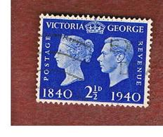 GRAN BRETAGNA (UNITED KINGDOM) -  SG 483   - 1940  POSTAGE STAMP CENTENARY   - USED° - Usati