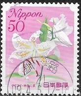 JAPAN (FUKUSHIMA PREFECTURE) 2008 Prefectural Flowers - 50y - Lily FU - 1989-... Empereur Akihito (Ere Heisei)