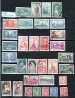 Année 1939   - Timbres Oblitérés - France