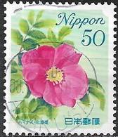 JAPAN (FUKUSHIMA PREFECTURE) 2008 Prefectural Flowers - 50y - Sweet Briar FU - 1989-... Empereur Akihito (Ere Heisei)