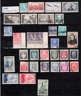 Année 1942   - Timbres Oblitérés - Oblitérés