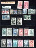 Année 1943   - Timbres Oblitérés - Oblitérés