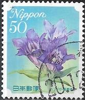 JAPAN (FUKUSHIMA PREFECTURE) 2008 Prefectural Flowers -50y - Gentian FU - 1989-... Empereur Akihito (Ere Heisei)