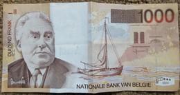 Billet 1000 Francs Belge Permeke Duizend Frank Mille - [ 2] 1831-... : Royaume De Belgique