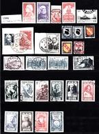 Année 1946   - Timbres Oblitérés - Oblitérés